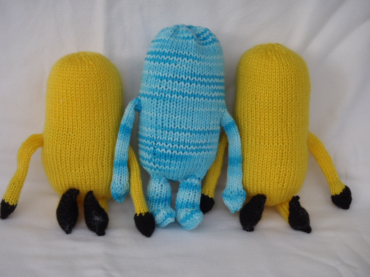 Knitting Pattern For Minion Free : Mimis dochter