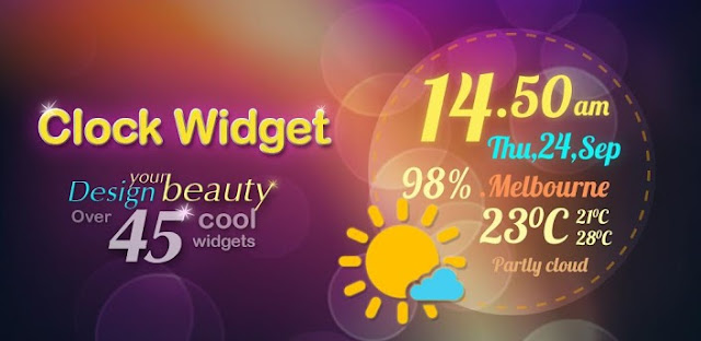 Beautiful Clock Widget Pro v1.2