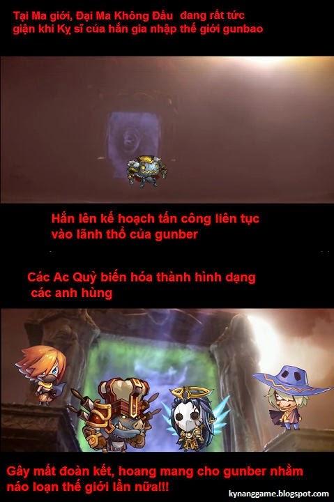 Giới thiệu Gunbao: Ác quỷ không đầu xuất hiện