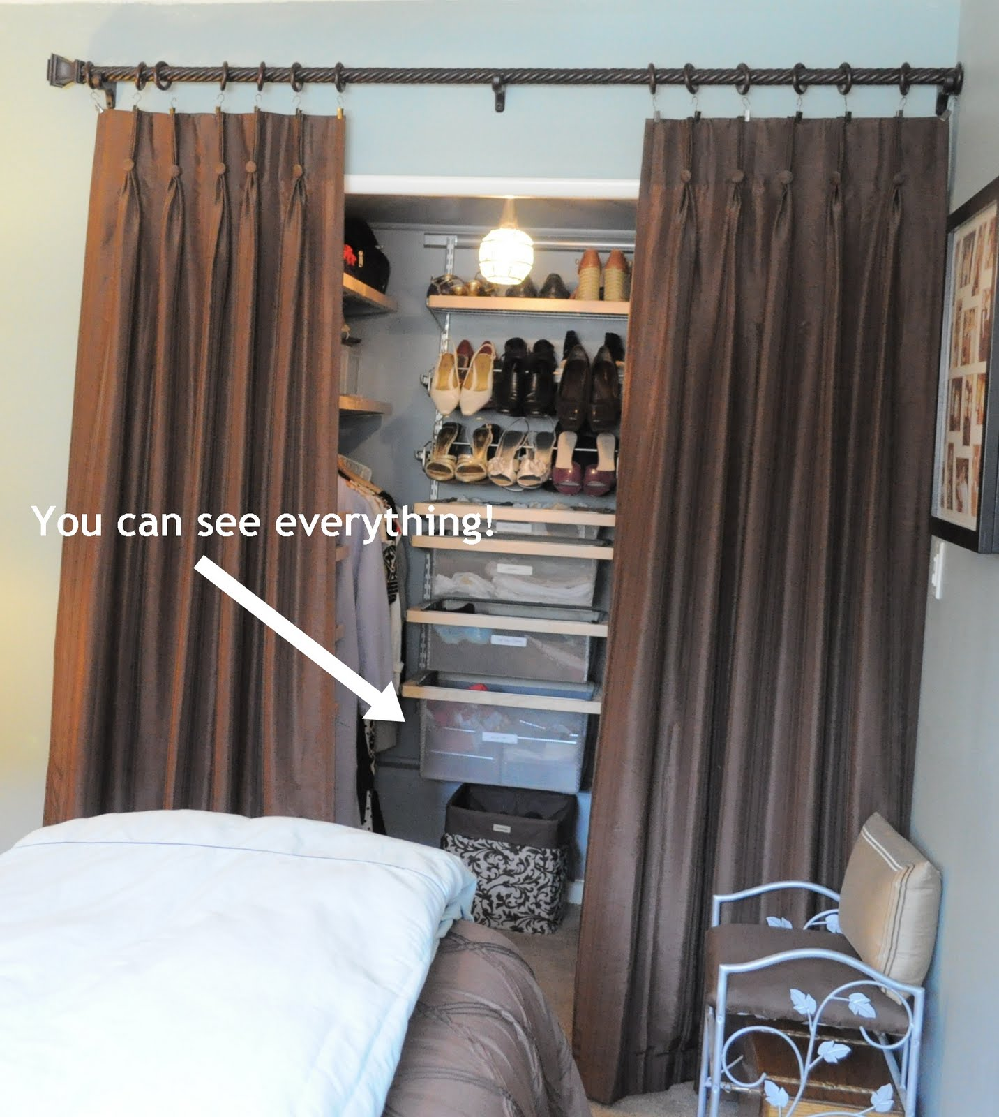how i organize my bedroom: my closet! | organizing made fun: how i