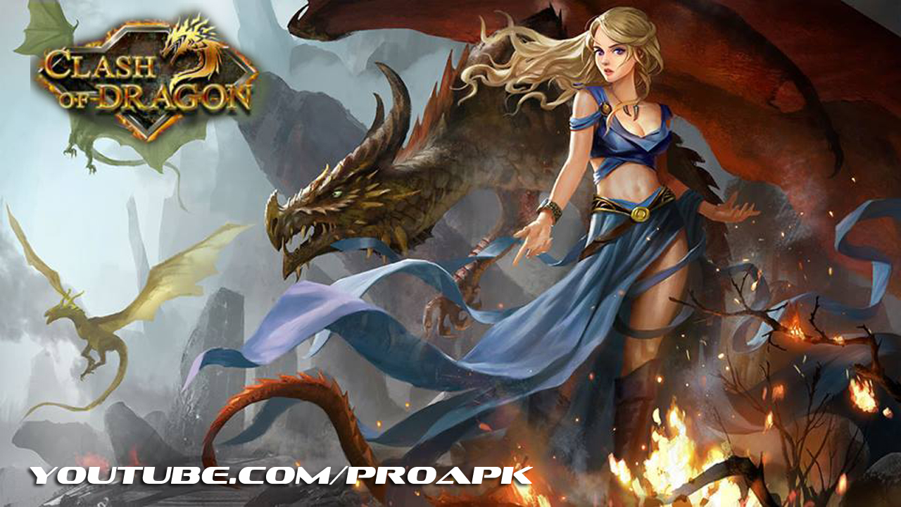 Clash of Dragon Gameplay IOS / Android