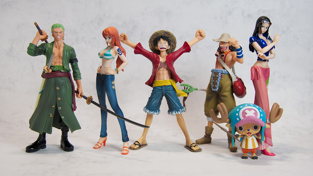 Figuarts ZERO - Straw Hat Pirates (New World ver.)