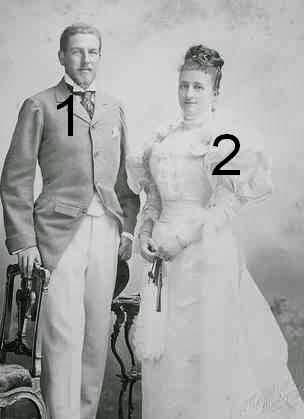 Philippe et Marie-Dorothée, duc et la duchesse d'Orléans