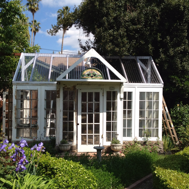 Build Your Own Greenhouse Using Old Windows