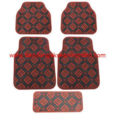 Karpet DAD Full Colour Hitam-Merah Japan