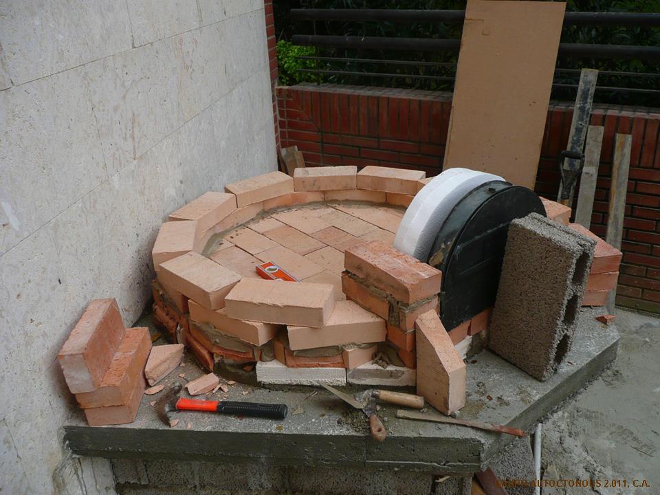 Horno le a casero transportes de paneles de madera - Horno casero de lena ...