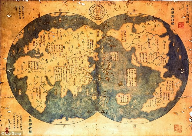 America Was Discovered By The Chinese 70 Years Before Columbus (Map)