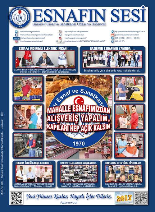 ESNAFIN SESİ - ARALIK 2016 -