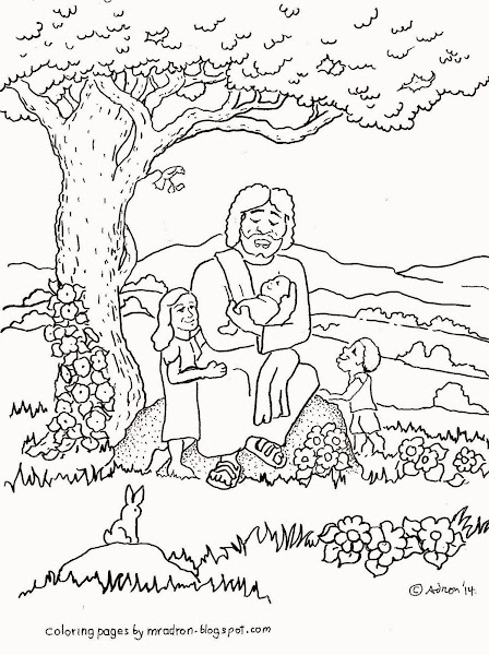 Jesus Loves Me Coloring Pages For Preschoolers