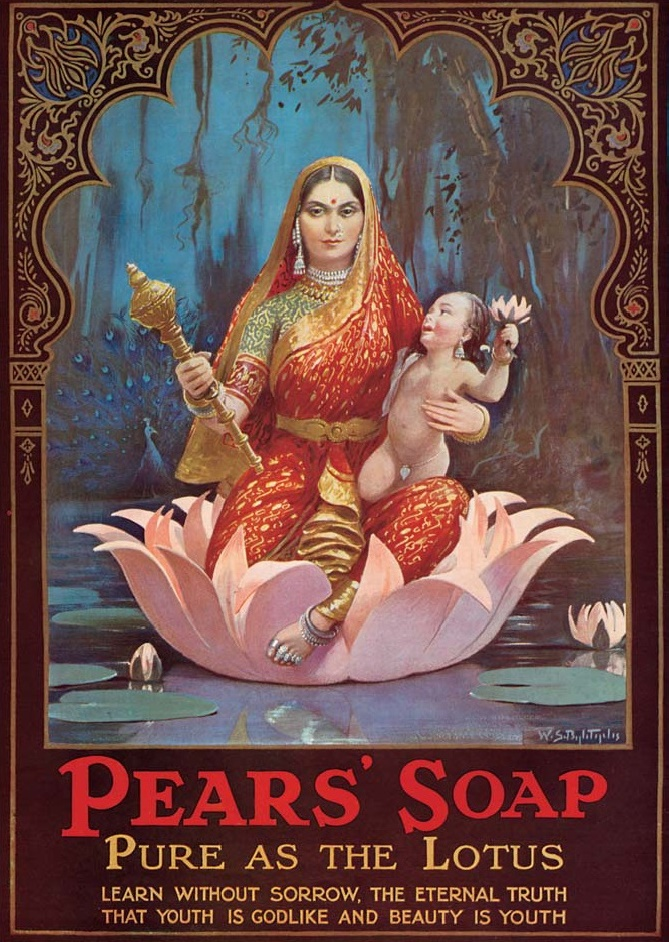 Pears' Soap Advertisement - Vintage Print India