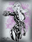 Um sketch da Viuva Negra da Marvel Comics! Espero que gostem! =D Abraços!