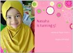 Nasuha turns 7