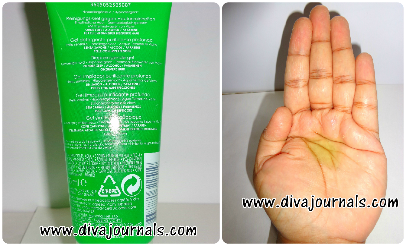 Vichy Normaderm Deep Cleansing Purifying Gel Review