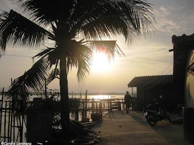 Sun rise in Saladan, Koh Lanta