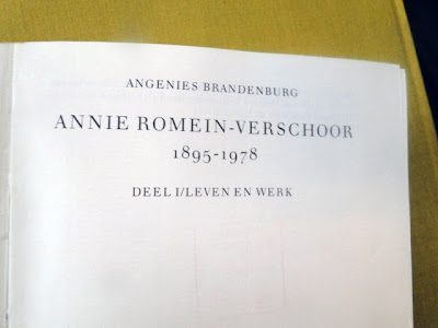 De biografie van Annie Romein-Verschoor