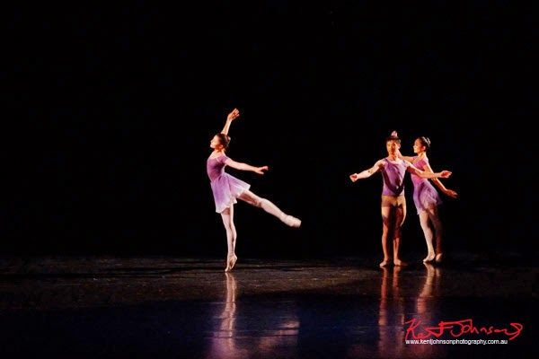 Classic dance, The Australian Ballet, ART TO SKY (2014) by choreographer Stephen Baynes, performance Sydney Opera House - Photographed by Kent Johnson.