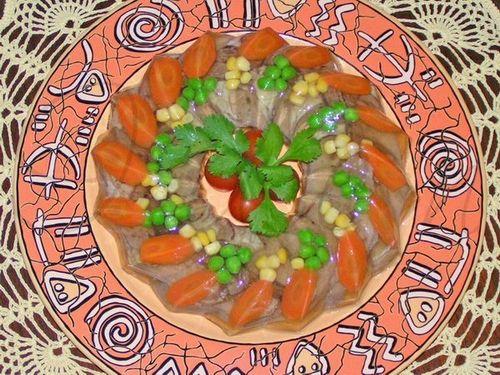 Заливное из говяжьего языка рецепт с видео