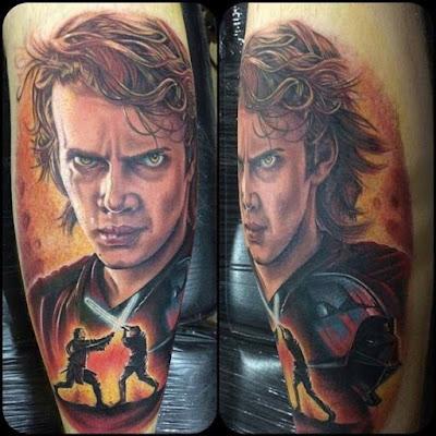 Tatuaje Anakin Skywalker