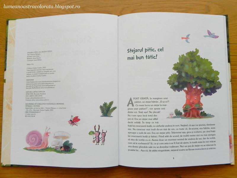 Stejarul pitic, cel mai bun tătic! editura Cartea Copiilor