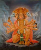 Saptha Mukha Hanumath Kavacham Meaning