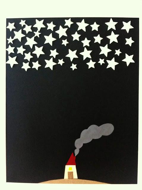 ilustración infantil se ilumina oscuridad