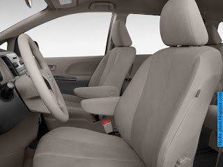 Toyota sienna car 2012 interior - صور سيارة تويوتا سيينا 2012 من الداخل