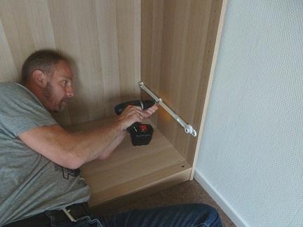 Hoekkast Slaapkamer Ikea : Binnenkant : vijf ikea kasten in elkaar gezet!