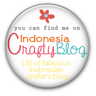 Me on crafty blog