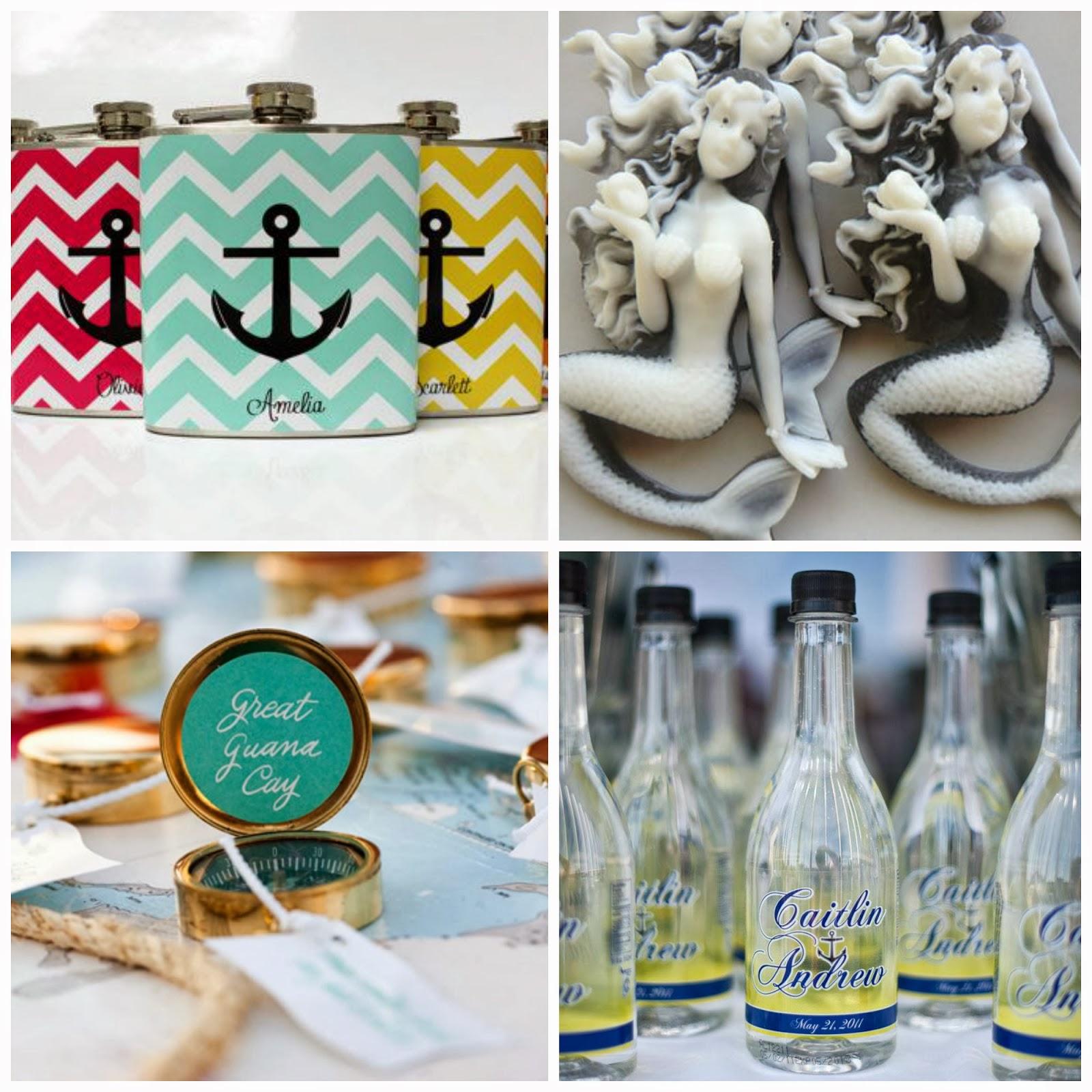 Nautical Wedding Favor Ideas
