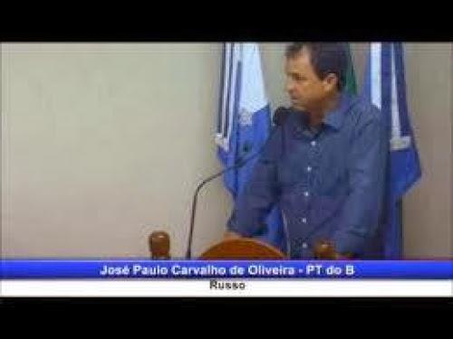 A declaração fascista do vereador José Paulo Carvalho de Oliveira
