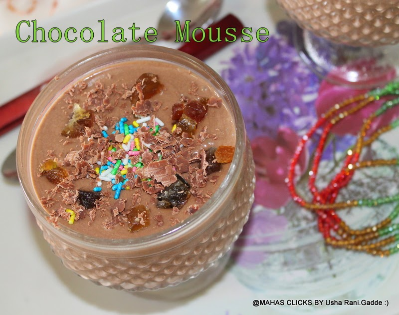 Image Result For Easy Chocolate Mousse Recipe