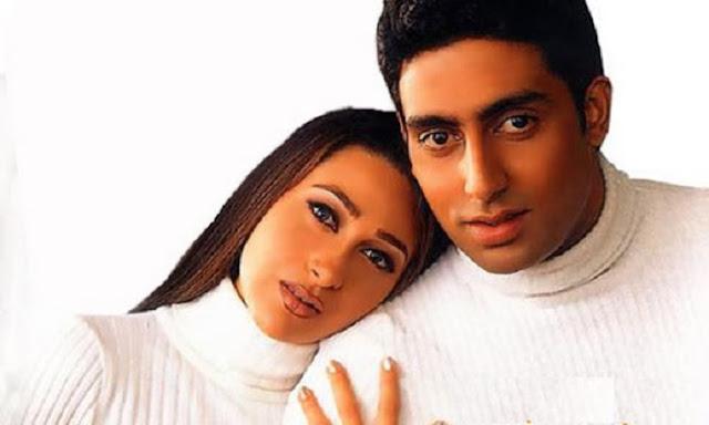 Abhishek Bachchan & karishma kapoor Wallpaper Download