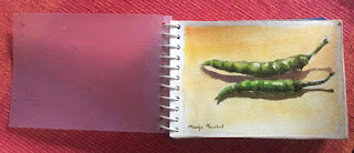DIY create travel sketch book, by Manju Panchal