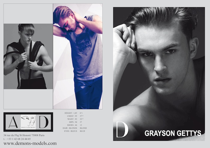 Modeling 101 - A Model's Diary: Samples of Male Model Comp Cards