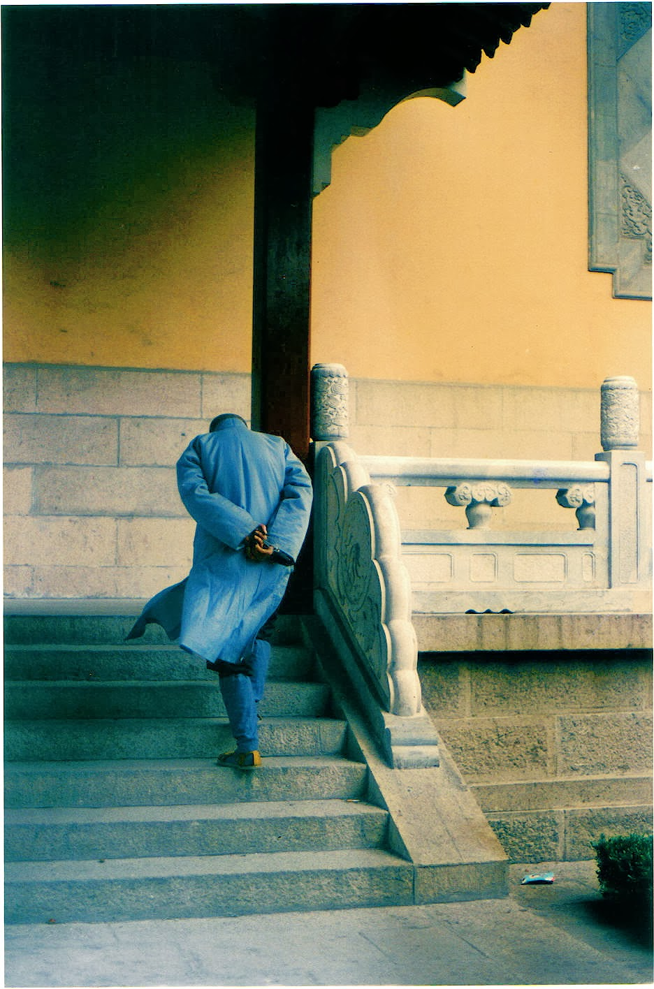 Mindless Monk, Beijing 1989 by Karin Lisa Atkinson