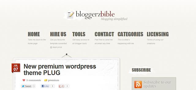 bloggerz bible