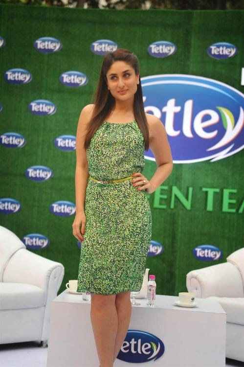 Kareena Kapoor At Tetley Green Tea Re-Launch Event In Mumbai