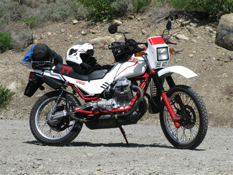 Oddbike Moto Guzzi V Twin Off Roaders Improbable Italian Enduros