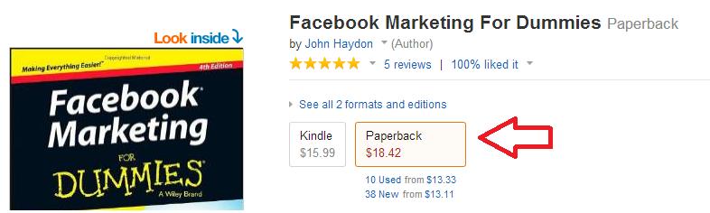 nó được bán trên amazon khá đắt