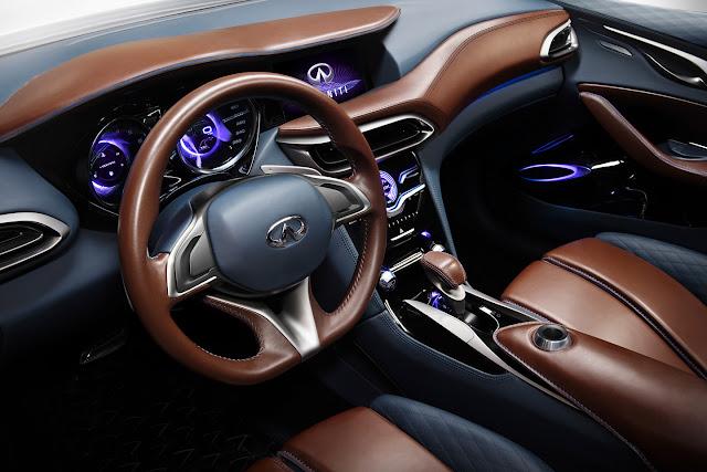 Infiniti QX30 Concept, interior