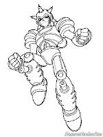 Gambar Robot Tangguh Musuh Astro Boy