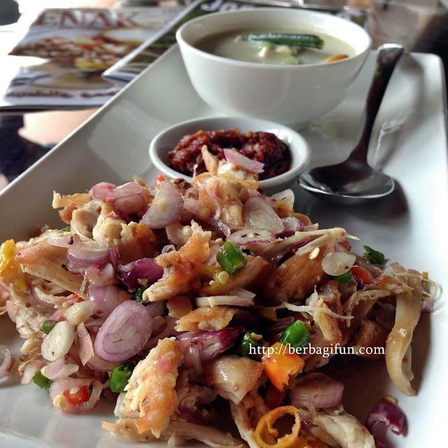 menu warung sawah gondanglegi