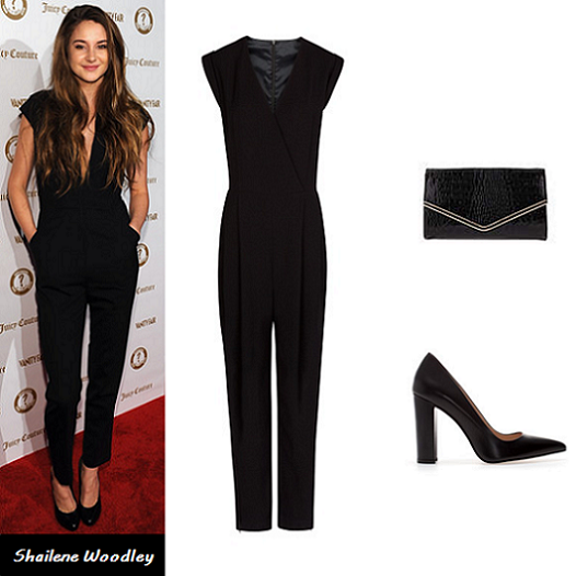 jumpsuit, playsuit, Shailene Woodley