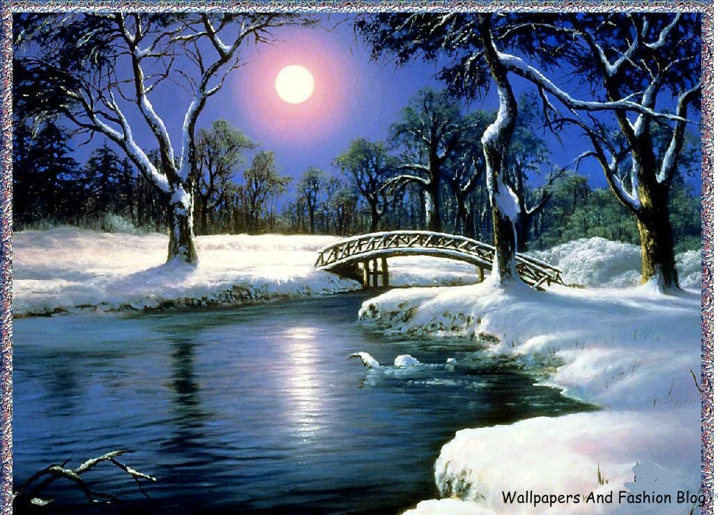 winter scenes hd wallpapers and backgrounds wallpapers and fashion
