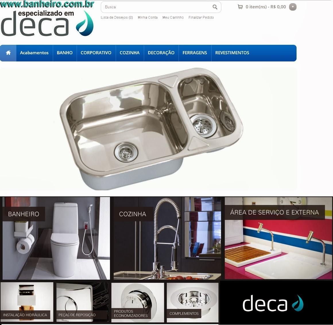 Sarah Decor & Design: Soluções e Produtos DECA www.banheiro.com.br #074993 1160x1132 Acessorios Banheiro Altura
