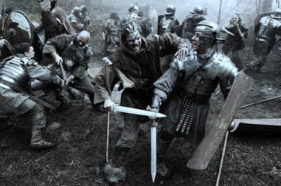 Pictos vs Romanos - Imagen película Centurión - HistoriaDeLasCivilizaciones.com