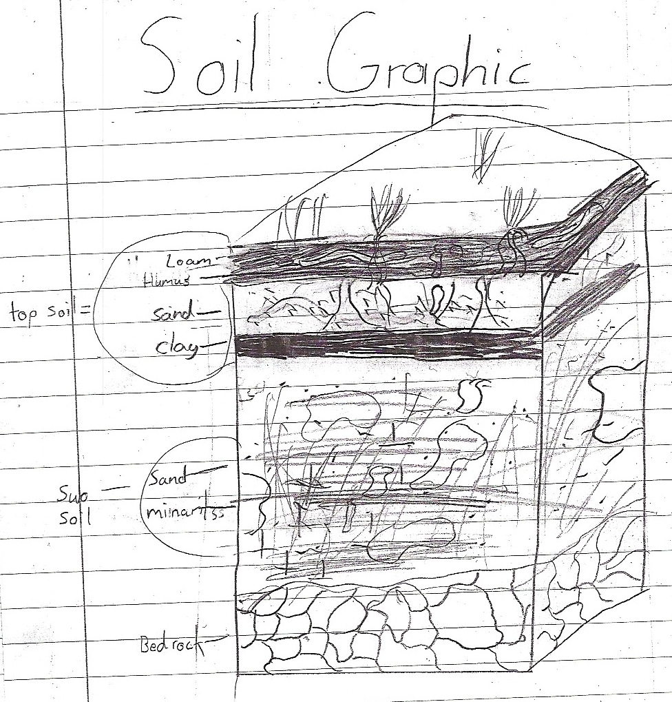 The gallery for topsoil subsoil and bedrock for Full form of soil