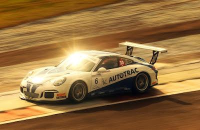 Pedro Piquet acelera o Porsche #6 em Cascavel (Luca Bassani)