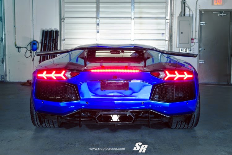 Modified Cars Modified Electric Blue Lamborghini Aventador