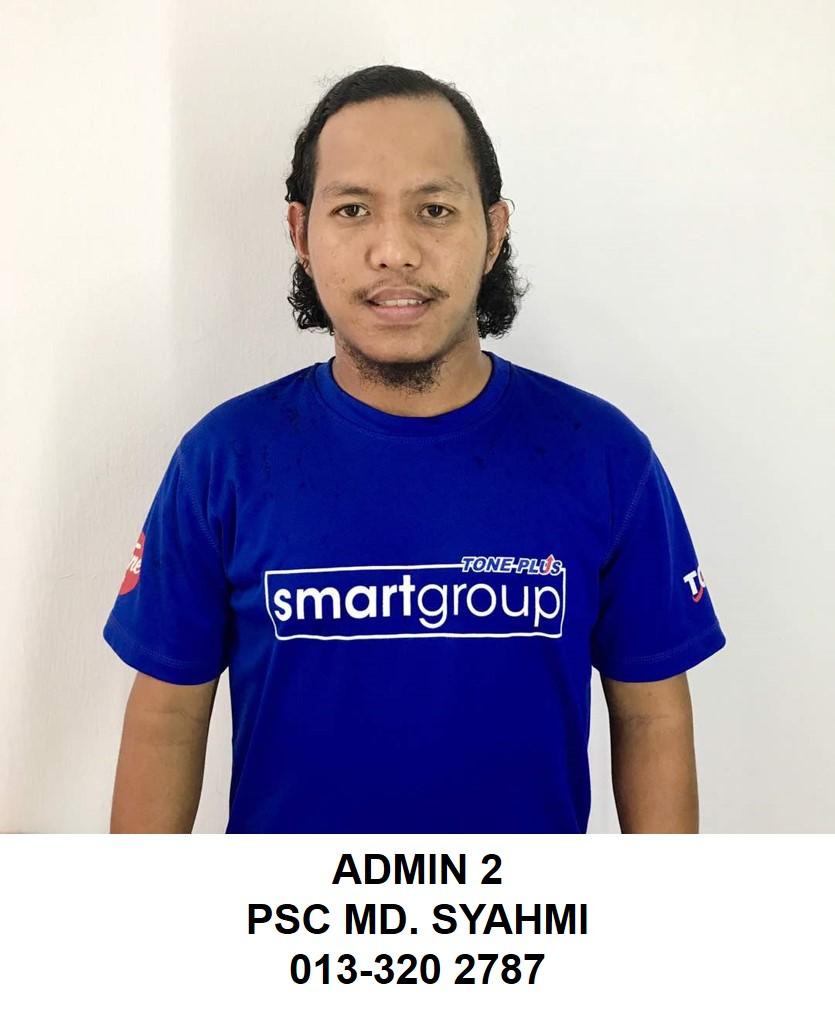 ADMIN 2 - SMARTGROUP